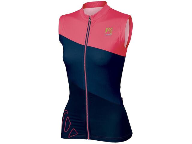 Karpos Verve SL Jersey Women insignia blue/paradise pink